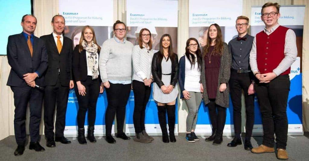 PreisträgerInnen des Erasmus+ Tagebuch-Wettbewerbs